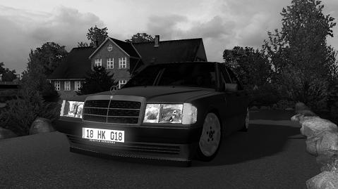 MERCEDES 190E W201 1 34 X | ETS2 mods | Euro truck simulator