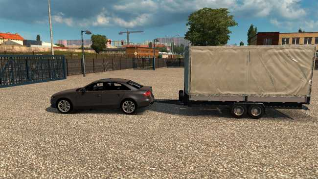 TRAILER FOR CARS 1 35 X | ETS2 mods | Euro truck simulator 2