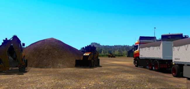 REWORKED SCANIA RJL TRUCK AND TRAILER 1.34 & 1.35