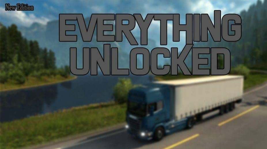 Everthing Unlocked 1 35 X Ets2 Mods Euro Truck