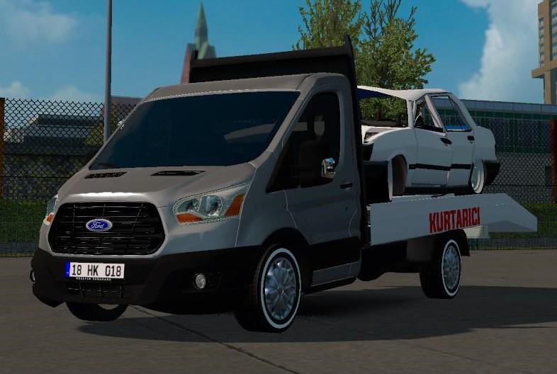 Ford Transit Pick Up Zdw on Volvo Truck Rims