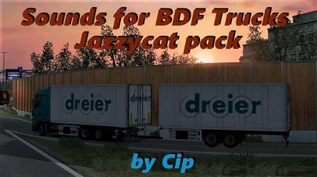 SOUND FOR BDF TRAFFIC PACK BY JAZZYCAT V5 5 1 | ETS2 mods