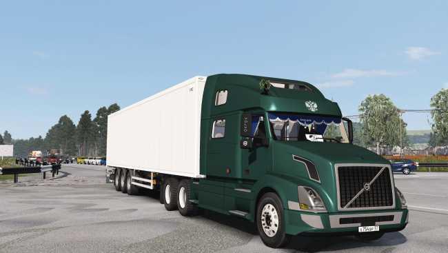 VOLVO VNL 780 1 35 X | ETS2 mods | Euro truck simulator 2