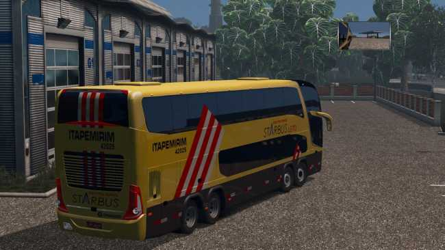 MARCOPOLO PARADISO G7 1800 DD 8X2 OVER GAME 2019 1 35 X | ETS2 mods