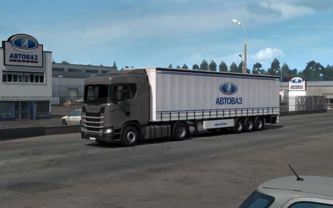 REAL LOGOS COMPANIES IN EUROPE, ITALY AND BALTIC 1 35 X | ETS2 mods