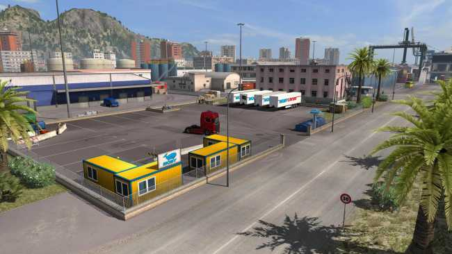 RED COMPANIES OVERHAUL V1 2 | ETS2 mods | Euro truck simulator 2