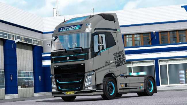 VOLVO FH 2012 EDITION 2 SKIN V1 0 | ETS2 mods | Euro truck simulator