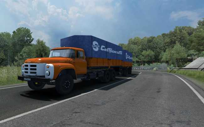 ZIL 130-131-133 UPDATE 1 35 X   ETS2 mods   Euro truck