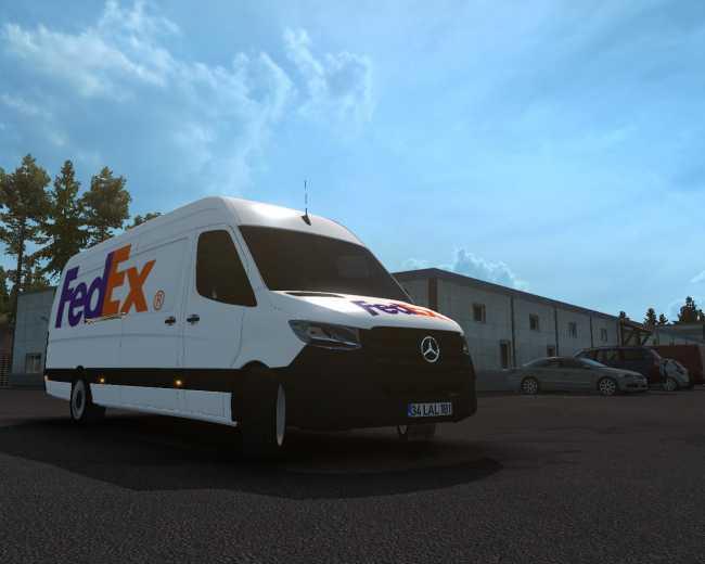 1332-skin-fedex-mercedes-new-sprinter-ets2-1-35-x-1-35_6