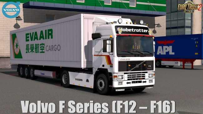 VOLVO F SERIES F12-F16 1 35 | ETS2 mods | Euro truck