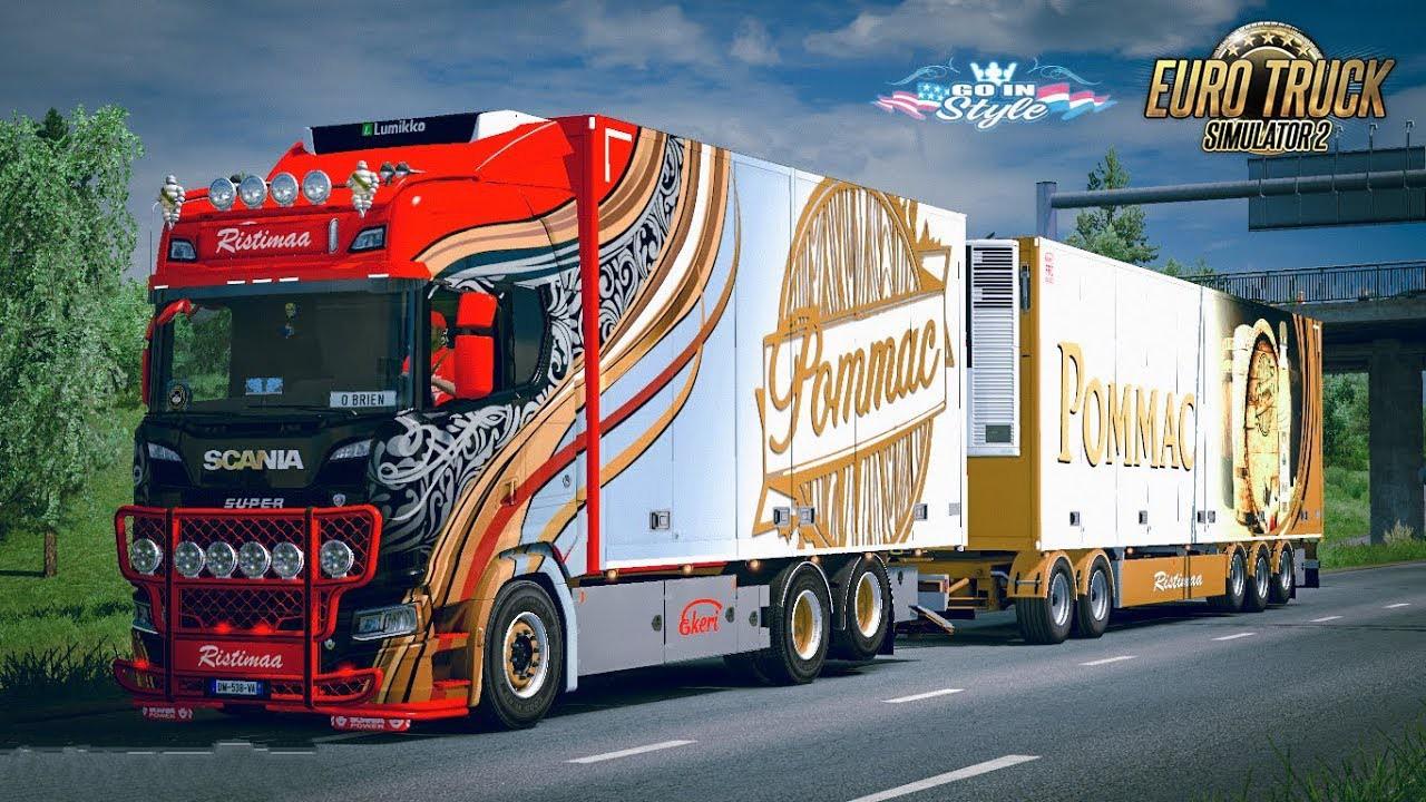 Ristimaa Next Gen Scania S Tandem Skin 1 35 X Ets2