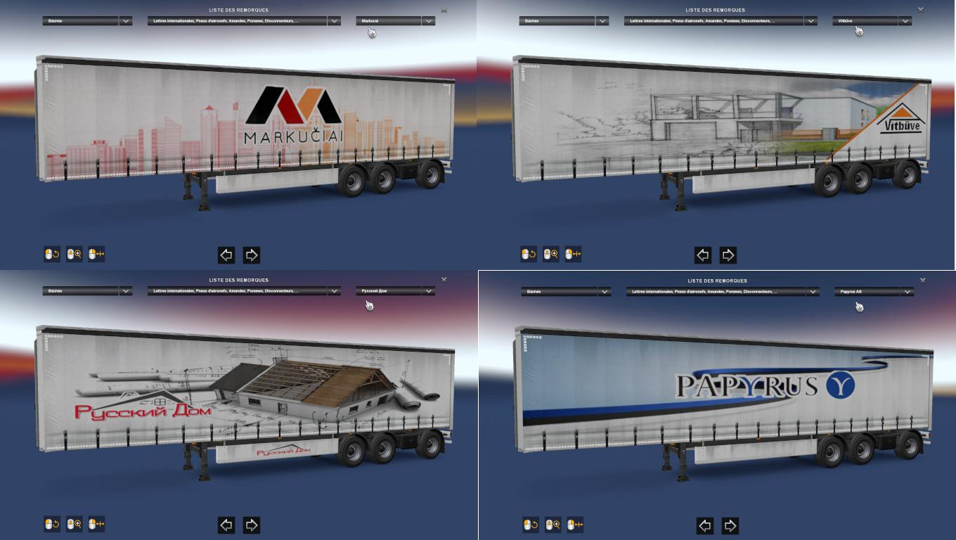 Real Company Trailers by SugnaGaming 1.35.x | ETS2 mods | Euro truck simulator 2 mods - ETS2MODS.LT