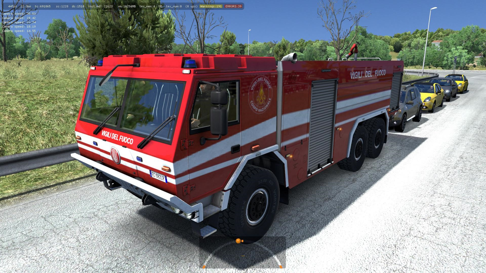 Special Vehicles In Traffic 1 35 X Ets2 Mods Euro