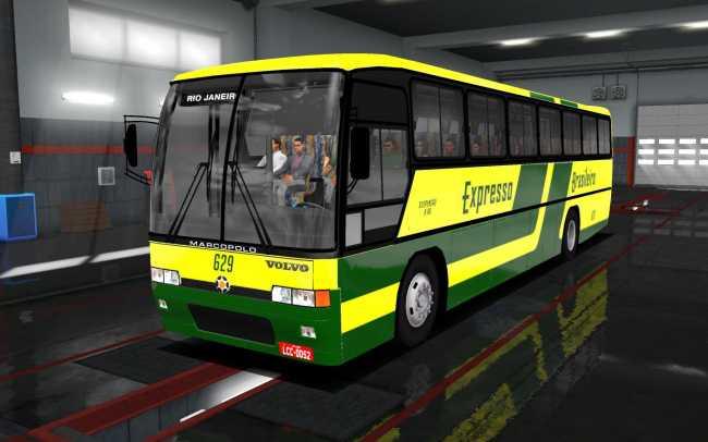 VOLVO GV 100 1 35 X | ETS2 mods | Euro truck simulator 2