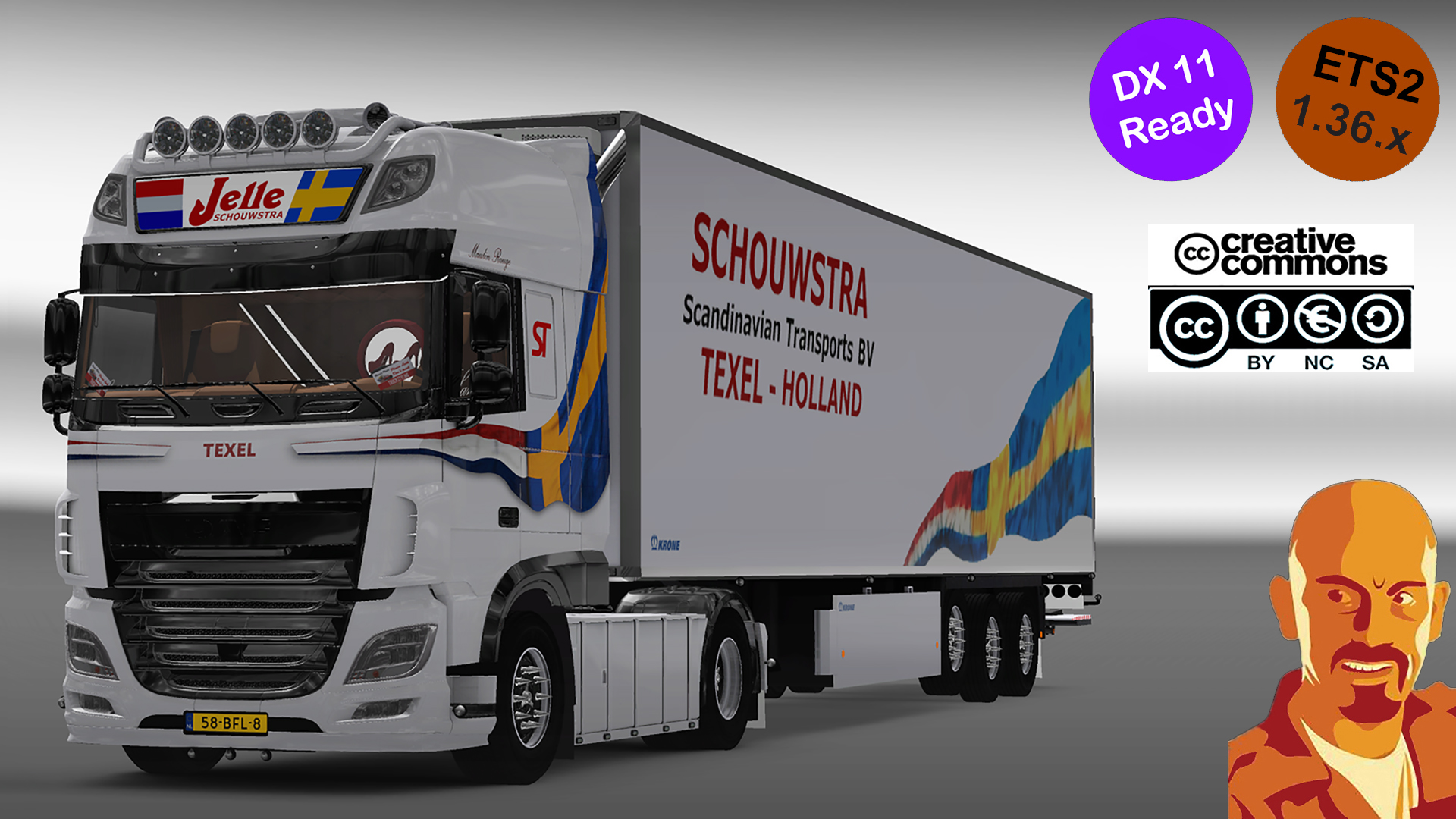 American truck simulator - wheel tuning pack download