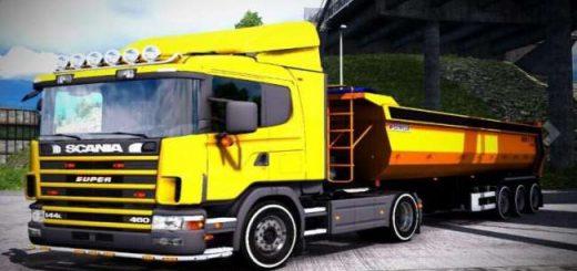 scania-144l-460-yellow-truck_1