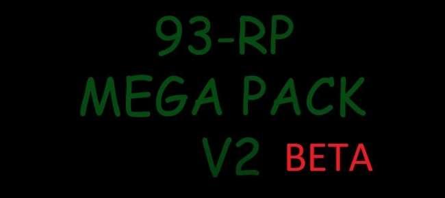 93-RP MEGA PACK WORK IN MULTIPLAYER 1100 TRAILERS V2.0