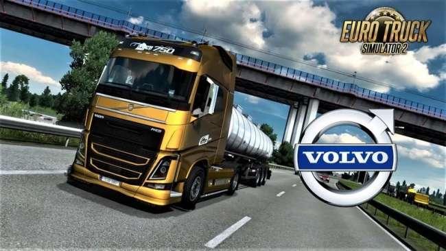 VOLVO FH16 2012 + INTERIOR V1.40.0.213S EDIT BY RPIE 1.40