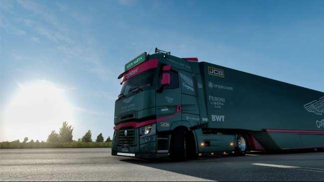 Aston Martin F1 Team V1 0 Ets2 Mods Euro Truck Simulator 2 Mods Ets2mods Lt